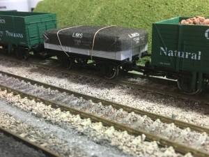 BR OO Wagon Tarpaulin Kit